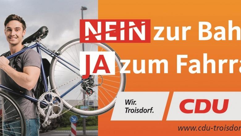 Kampagne Bahn Fahrrad